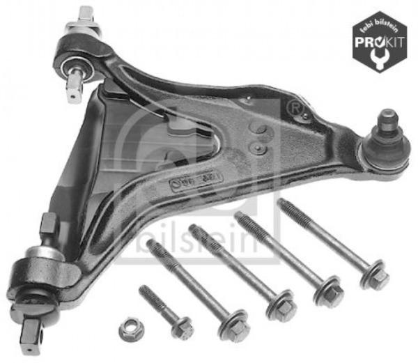 Handlebar, suspension for suspension Front Axle Febi Bilstein 15152