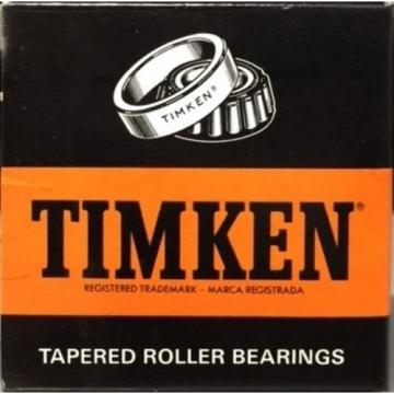 TIMKEN 620 TAPERED ROLLER BEARING, SINGLE CONE, STANDARD TOLERANCE, STRAIGHT ...