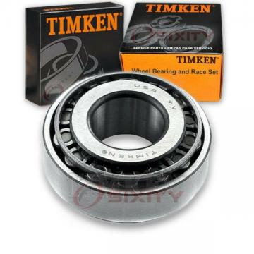 Timken Front Outer Wheel Bearing & Race Set for 1971-1972 Dodge B300 Van  um
