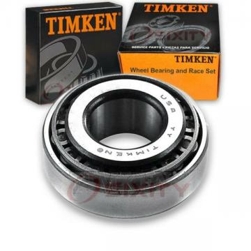 Timken Front Outer Wheel Bearing & Race Set for 1977 Cadillac DeVille  ty