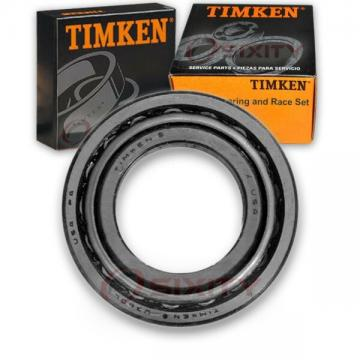 Timken Outer Wheel Bearing & Race Set for 1991 Eagle Summit  ey