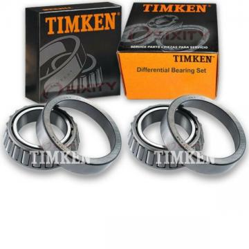 Timken Rear Differential Bearing Set for 1975-1981 Chevrolet G20  fy