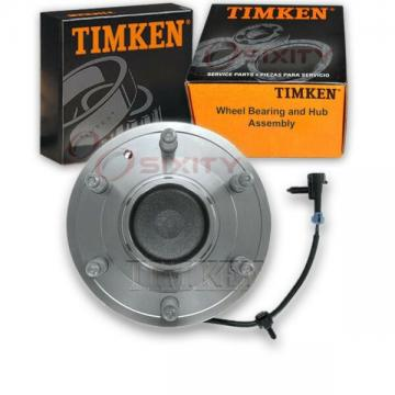 Timken Front Wheel Bearing & Hub Assembly for 1999 GMC C1500 Left Right ms