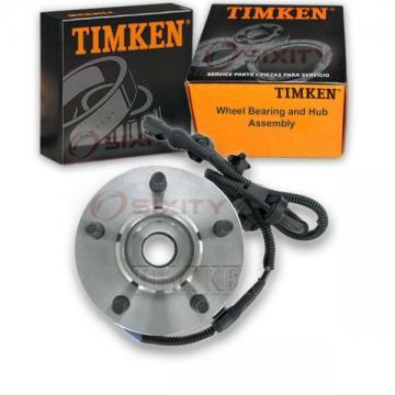 Timken Front Wheel Bearing & Hub Assembly for 2001-2002 Mazda B3000 Left ko