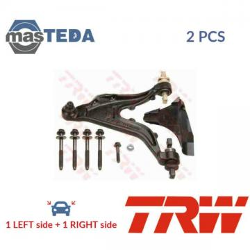 2x TRW LOWER LH RH TRACK CONTROL ARM PAIR JTC1065 P NEW OE REPLACEMENT