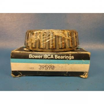 Bower 39590 Tapered Roller Bearing Single Cone (Timken)