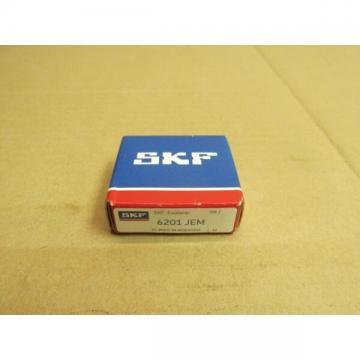 NIB SKF 6201 JEM BEARING NO SHIELDS 6201JEM 6201 C3 12x32x10 mm