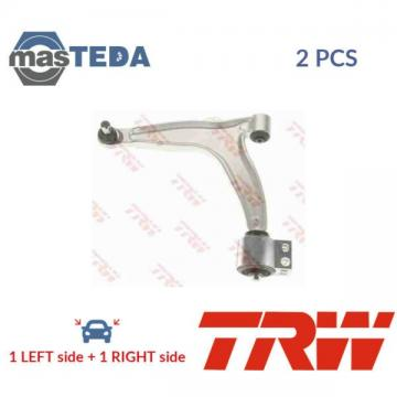 2x TRW LOWER LH RH TRACK CONTROL ARM PAIR JTC1001 I NEW OE REPLACEMENT