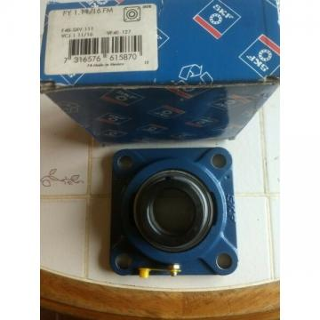 SKF BEARING FY 1.11/16 FM 4 BOLT FLANGE  WITH LOCKING COLLAR