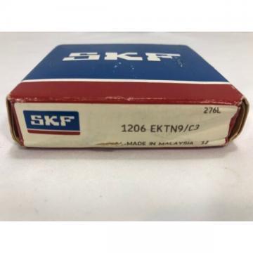 1206 EKTN9/C3 SKF New Self Aligning Ball Bearing 1206EKTN9C3