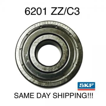 SKF 6201-2ZC3 6201-ZZC3 6201ZZ C3 Radial Ball Bearing 12X32X10 Made in ITALY