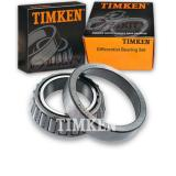 Timken Rear Differential Bearing Set for 1967-1974 GMC G25/G2500 Van  gy