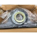 NEW IN BOX INA 2 HOLE PILLOW BLOCK BEARING WITH LOCKING COLLAR GNE80KRRBS